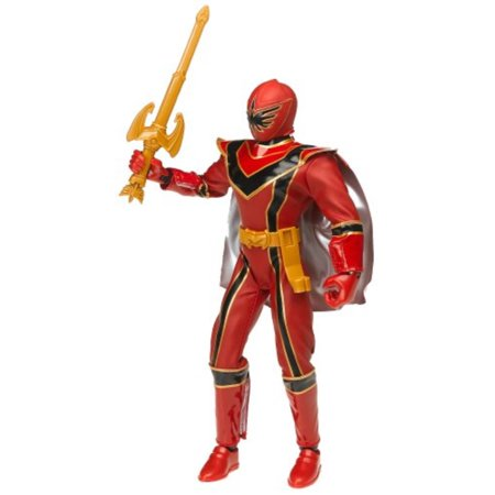 "Power Rangers Mystic Force Red Power Ranger 12"" Talking Action Figure"