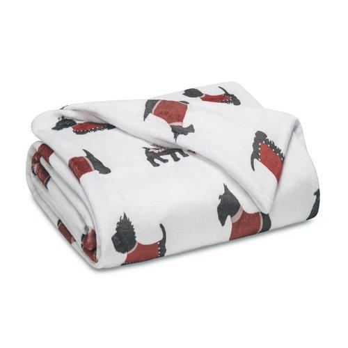 Winston Porter Mccary Winter Nights Print Plush Blanket