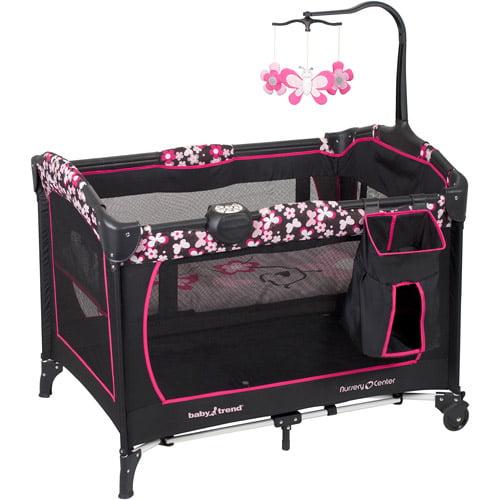 Baby Trend Nursery Center Playard Savannah Walmart Com