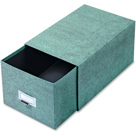 Globe-Weis, GLW69CGRE, Agate Index Card Storage Drawers, 1 Each, Green](Index Card Storage)