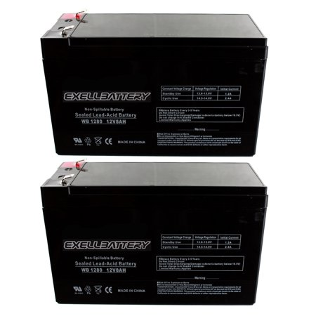 Two 12V 8Ah Apc Back Ups Es 650 Ups Battery   Replaces Upg  Fast Usa Shipping