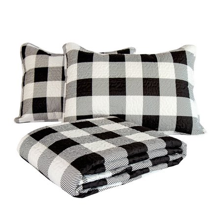 Buffalo Check Quilt Set