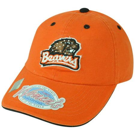 NCAA Oregon State Beavers Women Ladies Garment Wash Rhinestone Bling Hat
