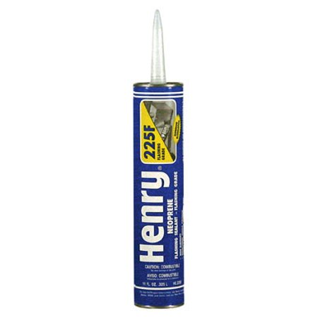 HENRY HE225F104 10.1 oz. Black Roofing Sealant