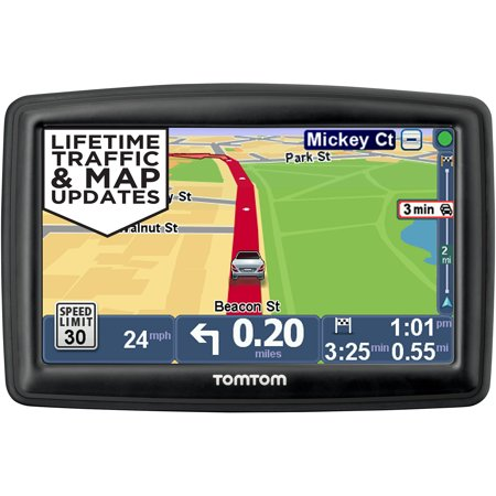 tomtom start 50tm gps navigator with lifetime traffic maps. Black Bedroom Furniture Sets. Home Design Ideas