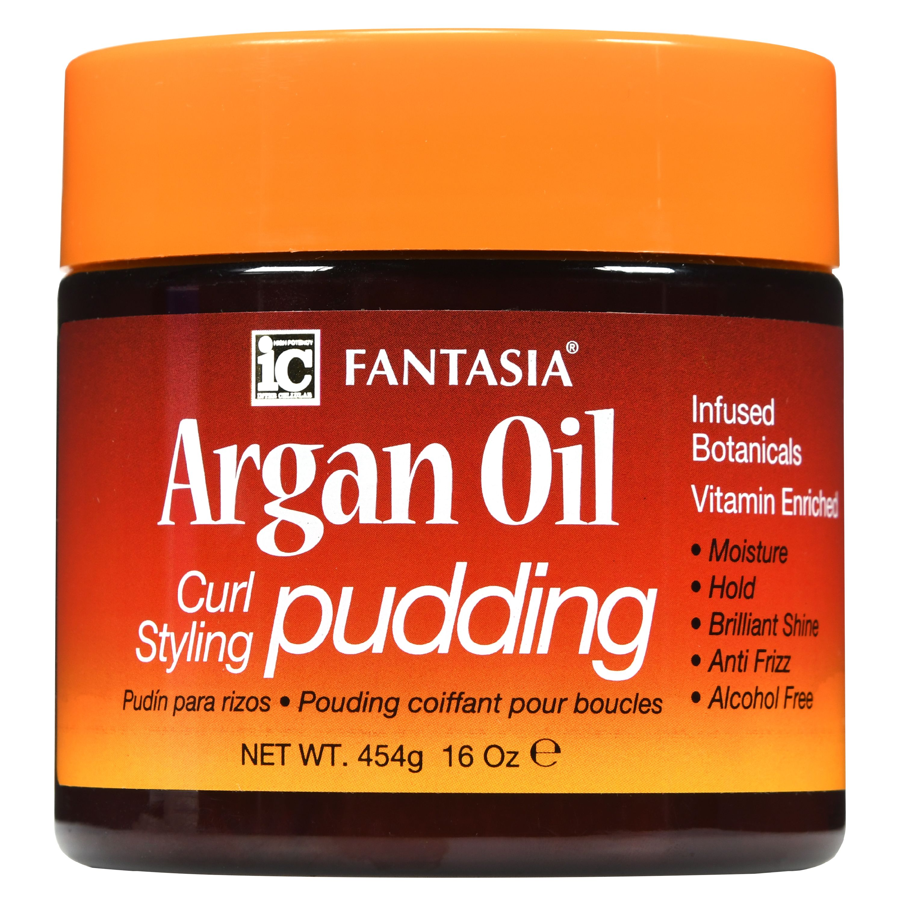 Fantasia Argan Oil Curl Styling Pudding, 16 oz