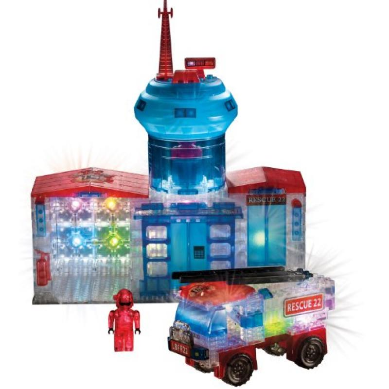 Cra-Z-Art Lite Brix Fire Station and Truck