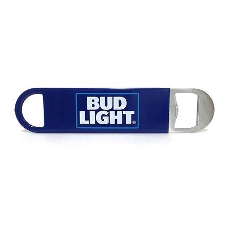 Logo Bartender Metal Bottle Opener with Vinyl Wrap, Flat to Easily Slide into Pocket, Bud Light updated logo. By Bud Light,USA ()