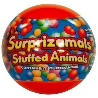 Surprizamals Stuffed Animals. Collectible Mystery Ball with Adorable Plush Toy Inside Series 2