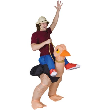 Ollie Ostrich Inflatable Adult Halloween Costume - Inflatable Halloween Suit
