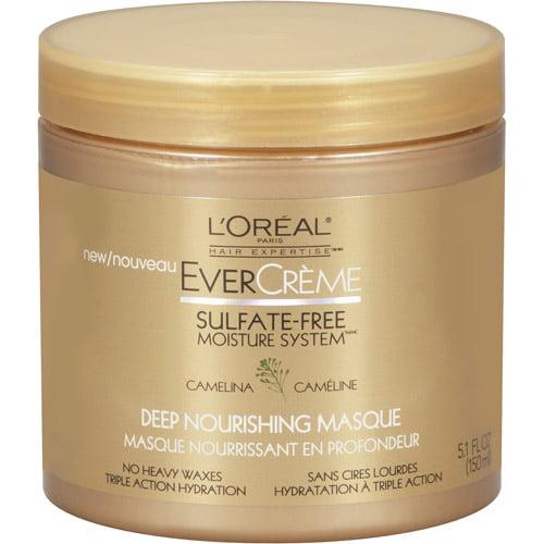 L'Oreal Paris EverCreme Sulfate Free Deep Nourishing Hair Masque