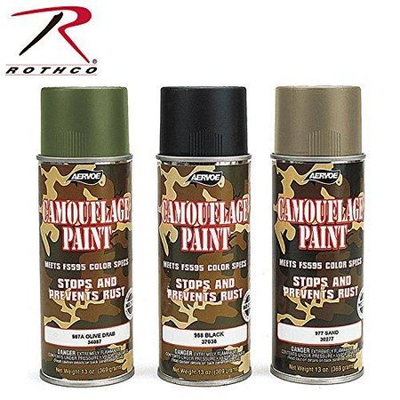 - Rothco Spray Paint, 16 oz (Net 12 oz), Olive Drab