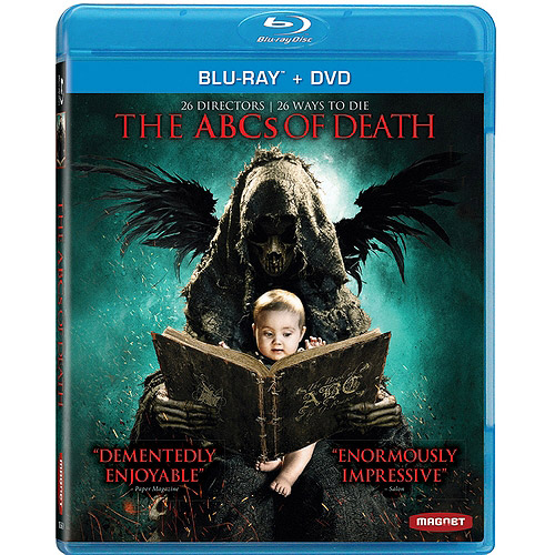 The ABCs Of Death (Blu-ray   DVD) (Widescreen)