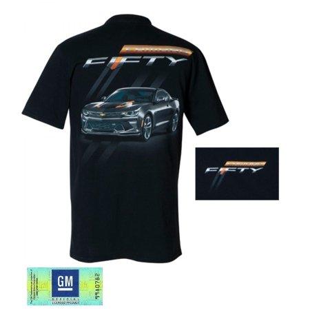 camaro fiftieth anniversary t-shirt / black (x-large)