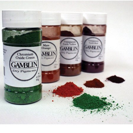 Gamblin Artist\'s Color Dry Pigments - 4 oz. Jar - Viridian