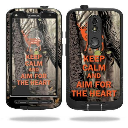 MightySkins Protective Vinyl Skin Decal for LifeProof Motorola Droid Turbo 2 fre case wrap cover sticker skins Deer (Deer Hunter Ii)