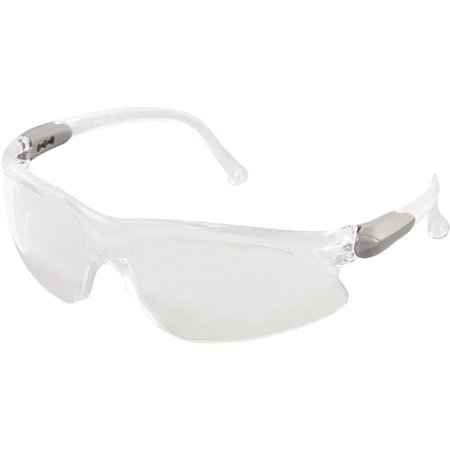 Kimberly-Clark Professional Jackson Safety V20 Visio Safety Glasses, Silver Frame, Clear Lens Deal