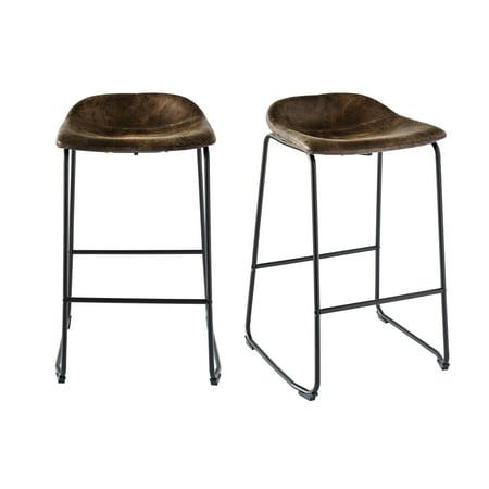 Picket House Furnishings Galloway Metal Bar Stool Set