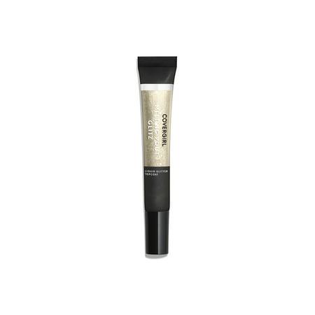 COVERGIRL Melting Pout Glitz Liquid Lipstick Glitter Topcoat, 400 Golden Girl