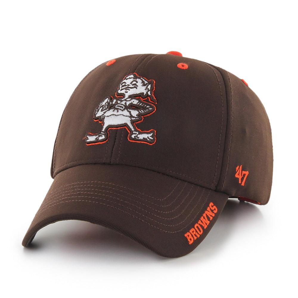 "Cleveland Browns 47 Brand NFL ""Condenser MVP"" Structured Adjustable Hat - Brown"