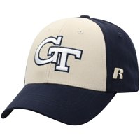 Men's Russell Athletic Gold/Navy Georgia Tech Yellow Jackets Endless Two-Tone Adjustable Hat - OSFA