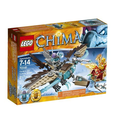 LEGO Chima 70141 Vardy's Ice Vulture Glider Building Toy (Lego Chima Starter Set)