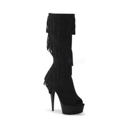 1a2705dcffe Pleaser - Women s Pleaser Delight 2021 Knee High Boot - Walmart.com
