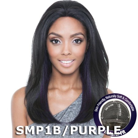 Brown Sugar Human Hair Blend French Lace Front Wig - BS702 TWINKLE (Isis Collection Brown Sugar Lace Front Wig Bs204)