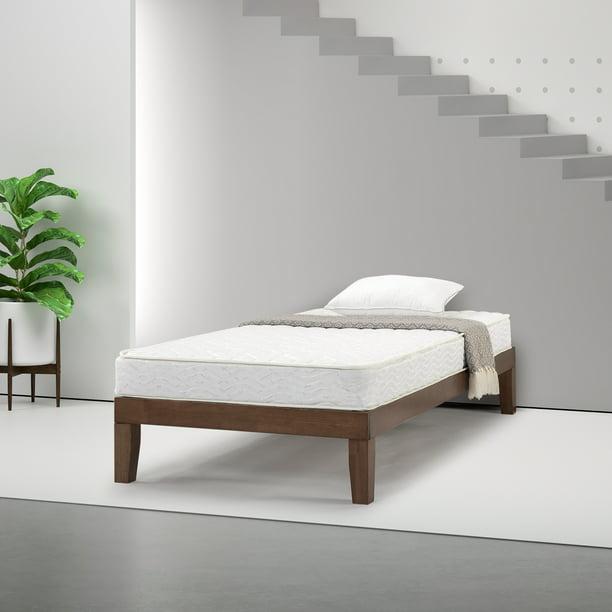 Slumber 1 By Zinus Comfort 6 Bunk Bed Innerspring Mattress Twin Walmart Com Walmart Com