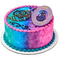 DecoPac Decorating 24327 DISNEY DESCENDANTS 3-GOOD 2 B BAD Cake Topper for Birthdays and Parties, 1 SET, Multiple