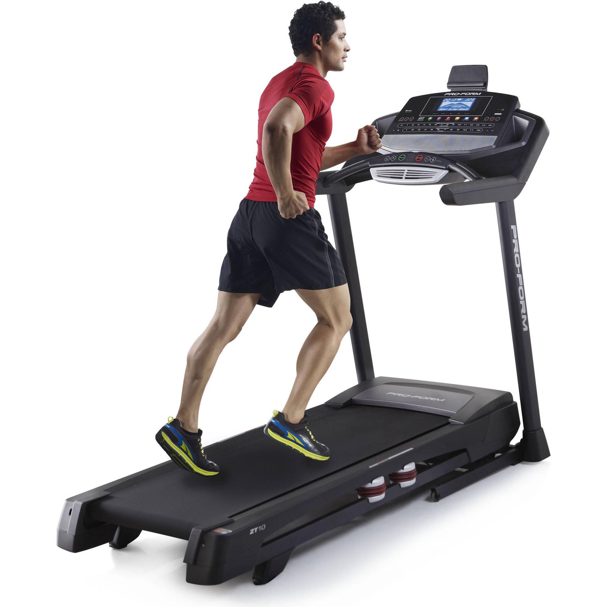 ProForm Power ZT 10 Folding Treadmill with Tablet Holder
