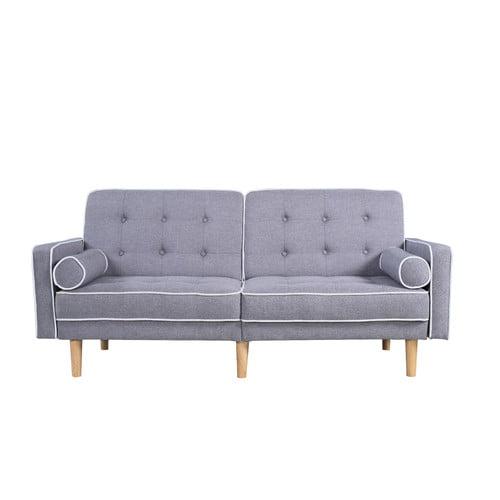 home usa mid century modern convertible sofa walmart