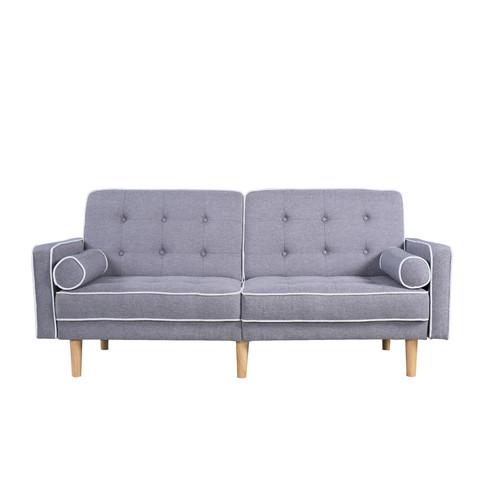 Madison Home USA Mid Century Modern Convertible Sofa