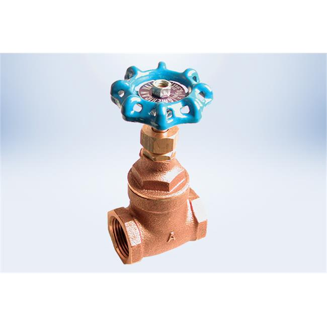 American Valve 3FG 3-4 0.75 in. Lead Free Gate Valve - International Polymer Solutions with 150 WSP & 300 WOG