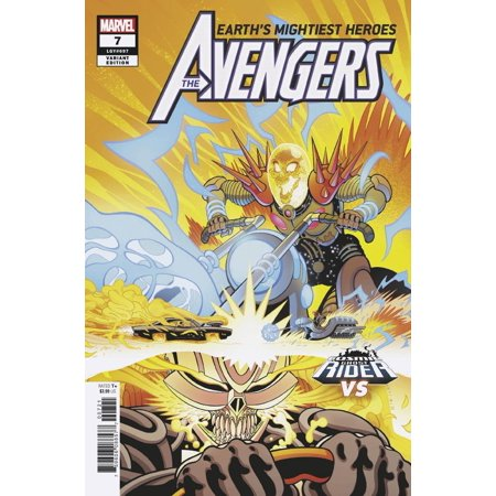 Marvel Avengers #7 [Cosmic Ghost Rider Variant Cover]