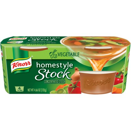 (4 Pack) Knorr Vegetable Homestyle Stock 4.66 oz