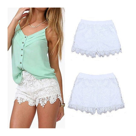 Hot Ladies Womens Denim Hotpants Vintage Cut Off High Waisted Denim Shorts