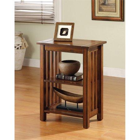 Furniture of America Murray II End Table in Antique Oak ()