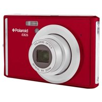 POLAROID IE826-RED 18MP DIGITAL STILL CAMERA with 2.4in Screen RED