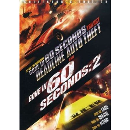 3rd In The Original Gone In 60 Seconds Trilogy: Deadline Auto Theft & Gone In 60 Seconds 2 (Widescreen, Collector's -