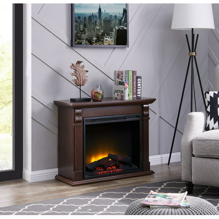 Bold Flame 33.46 inch Electric Fireplace in Chestnut ()