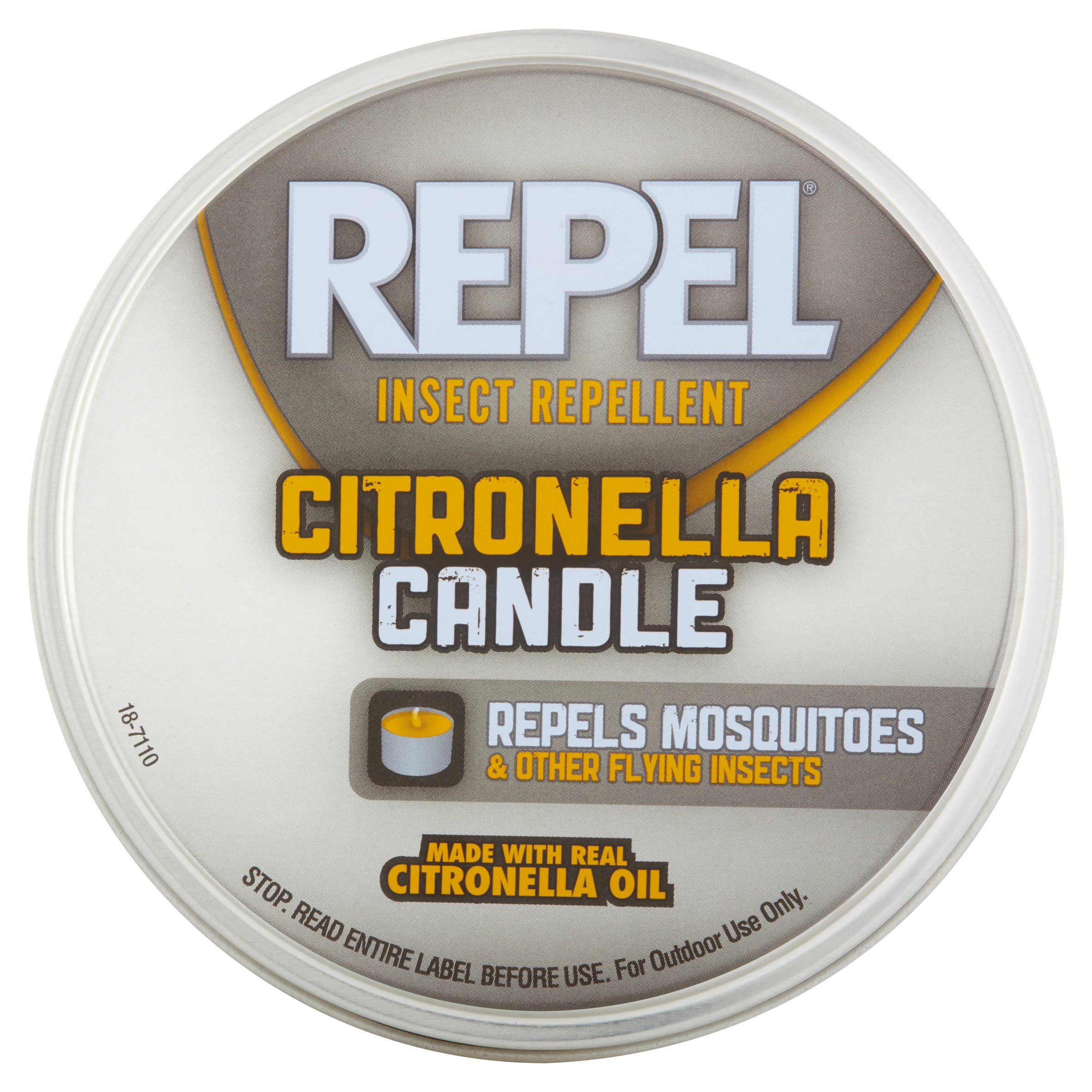 Repel Insect Repellent Citronella Candle, 10-Ounces