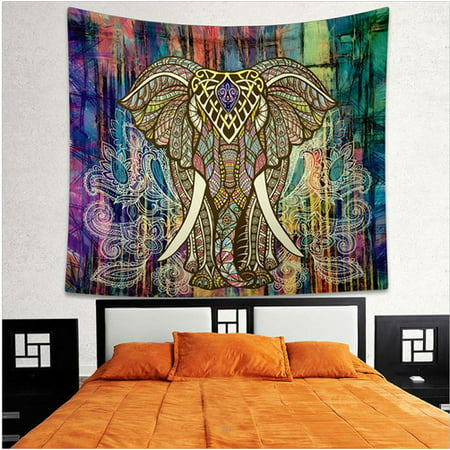 Splendid Ethnic Wall Decor Printing Bohemian Tapestry Home Bedroom