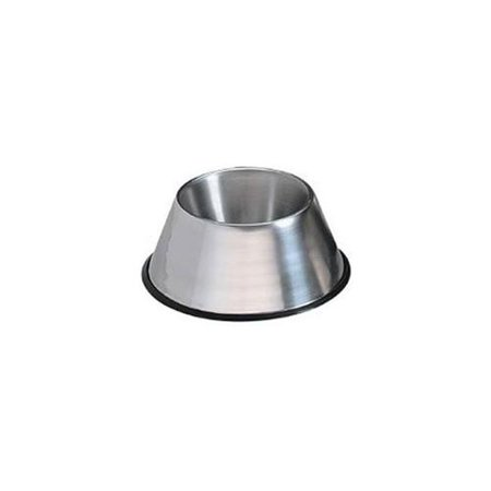 Petedge ZW6406 No-Tip Mirror Finish Poodle/Cocker Dish 1 Quart
