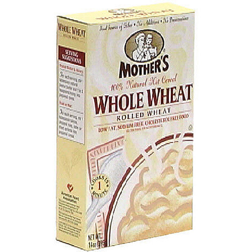 Mother's All Natural Whole Wheat Hot Cereal, 14 oz  (Pack of 6)