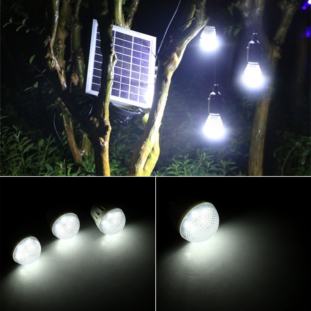Solar Panel Lighting Kit 4w Outdoor