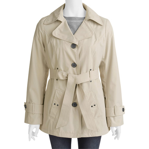 Faded Glory - Women's Lightweight Trench Coat