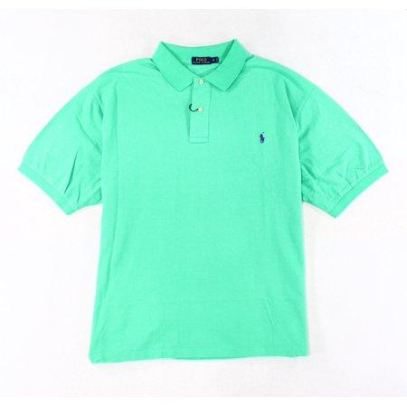 Polo Ralph Lauren New Pale Kelly Green Mens Size Big 3X Polo Shirt