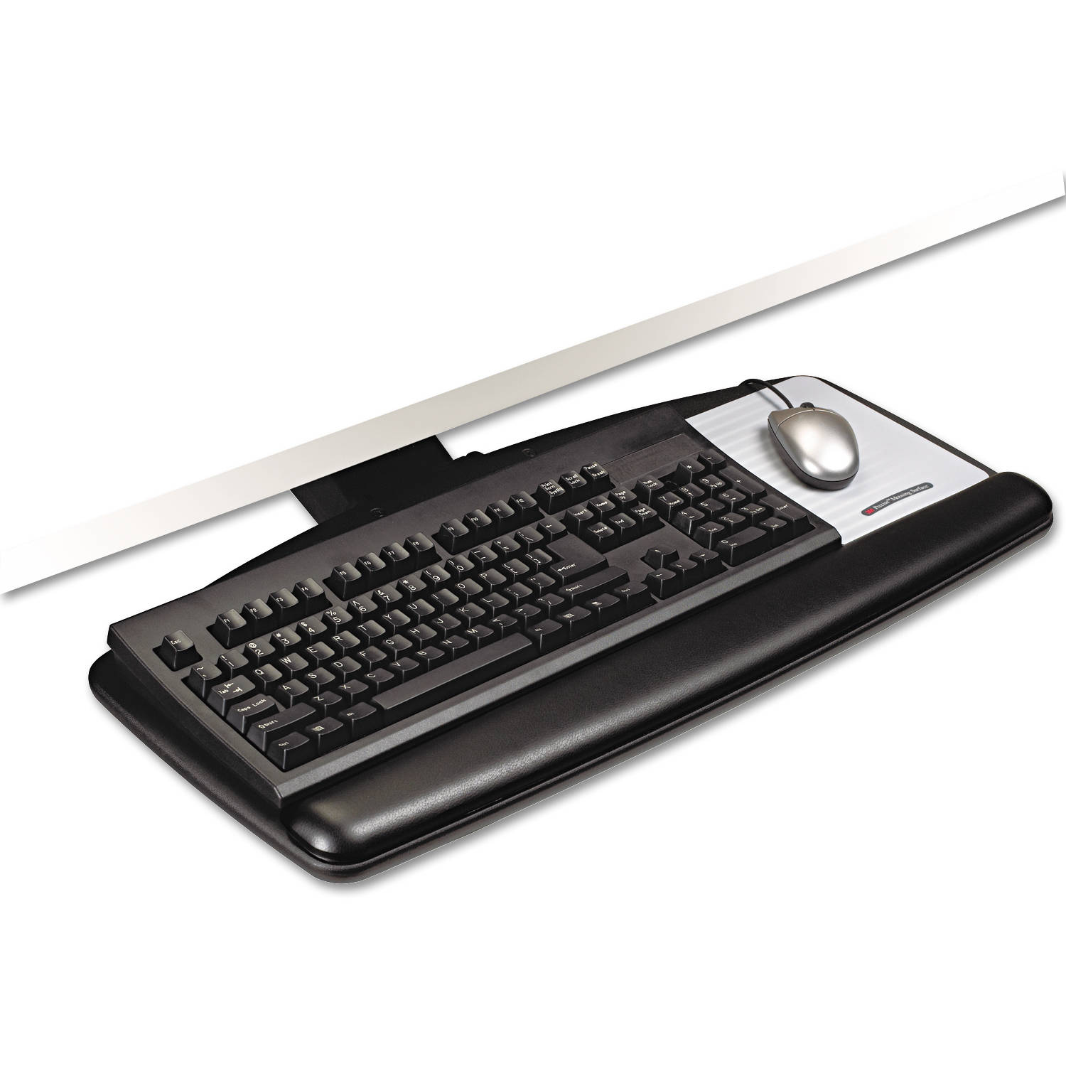 3M Easy Adjust Keyboard Tray, Black