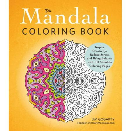 The Mandala Coloring Book - Mandala Coloring Sheet